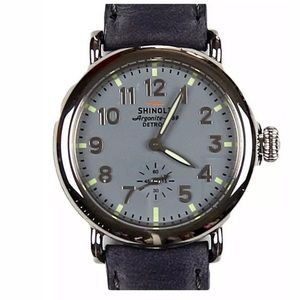 Accessories - Shinola Runwell Grey Argonite 1069 Grey Watch
